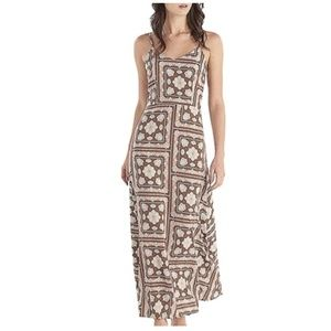 Basic V-Neck Spaghetti Strap Maxi Dress
